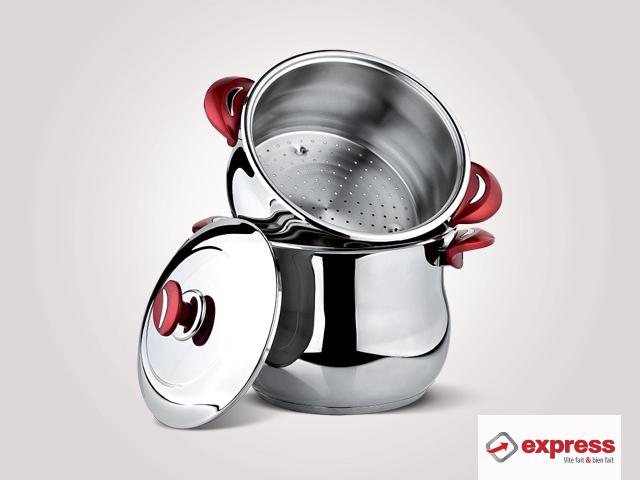 EXPRESS : Couscoussier en inox